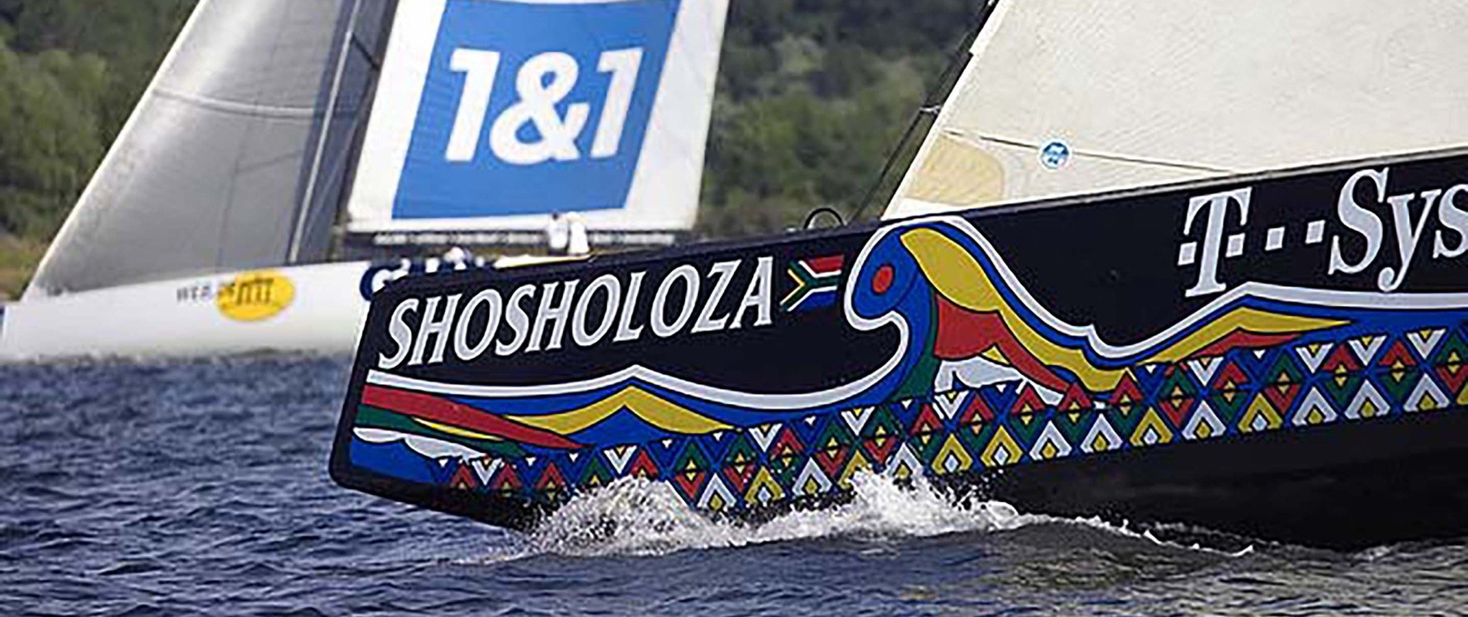 Shosholoza - South African entry to the Americas Cup