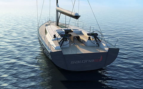 Thumbnail image of the boat design - Salona 60