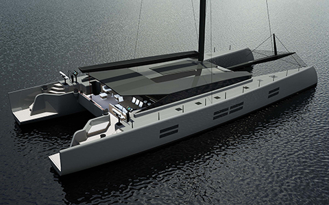 Thumbnail image of the boat design - MC90