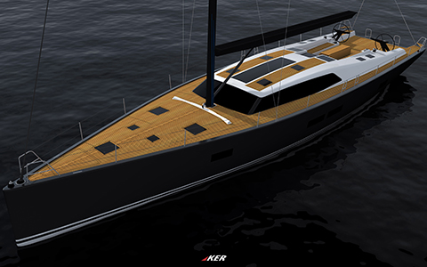 Thumbnail image of the boat design - Salona 67