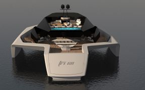 Thumbnail image of the boat design - 68m Tri