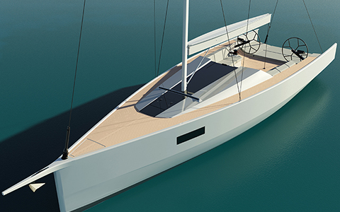 Thumbnail image of the boat design - 12m Day Cruiser