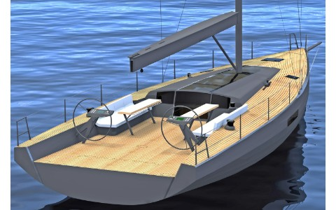 Thumbnail image of the boat design - Day Cruiser